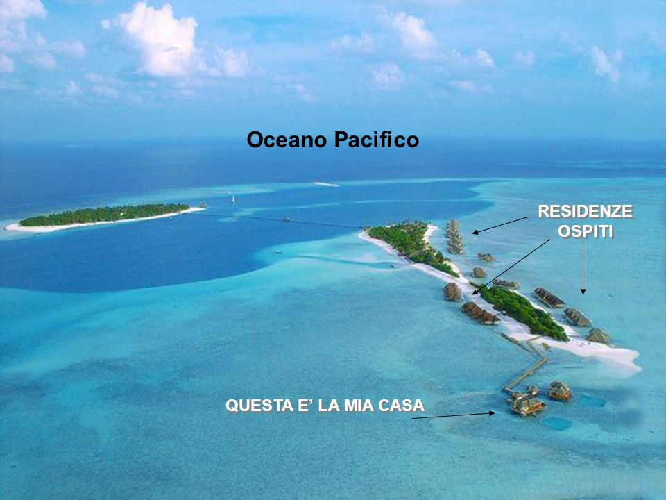 Oceano Pacifico RESIDENZE OSPITI QUESTA E' LA MIA CASA