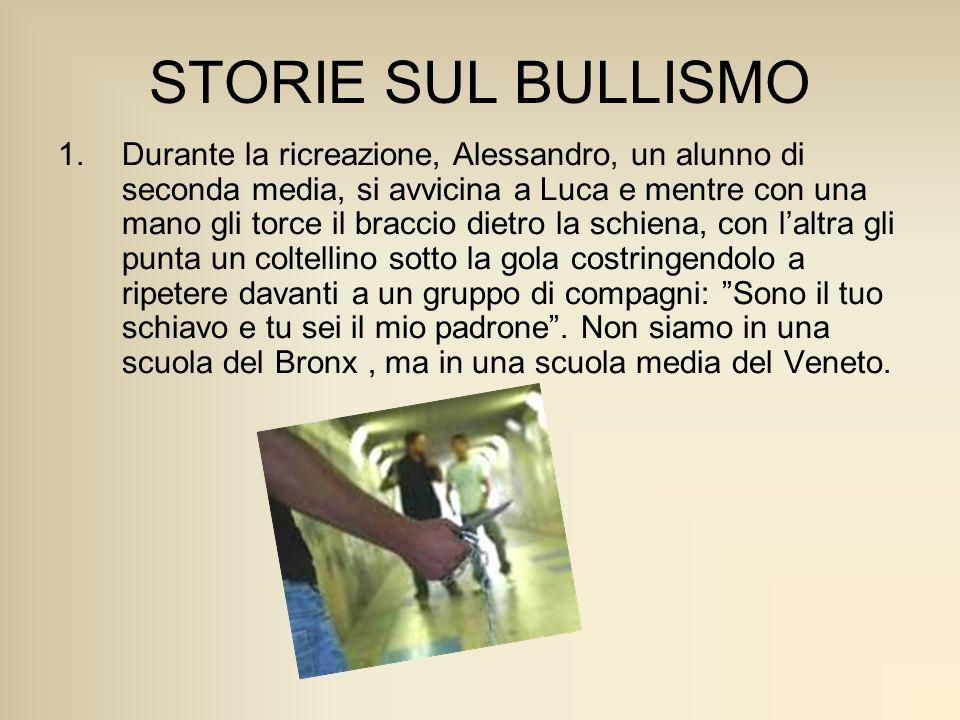 STORIE SUL BULLISMO