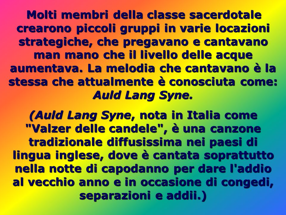(Auld Lang Syne, nota in Italia come