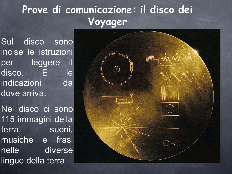 Prove di comunicazione: il disco dei Voyager