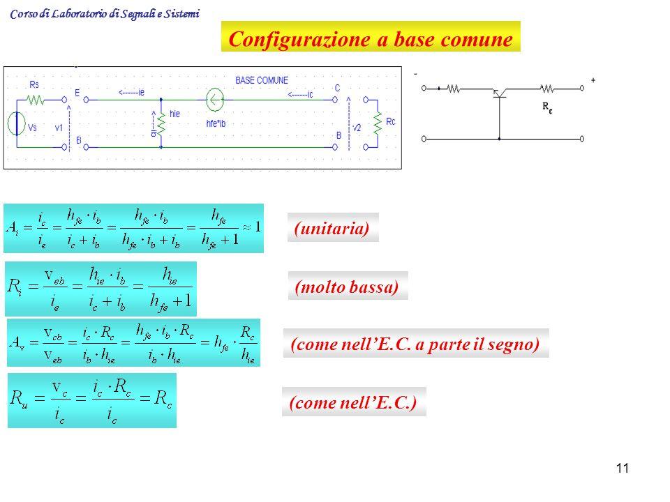 Configurazione a base comune