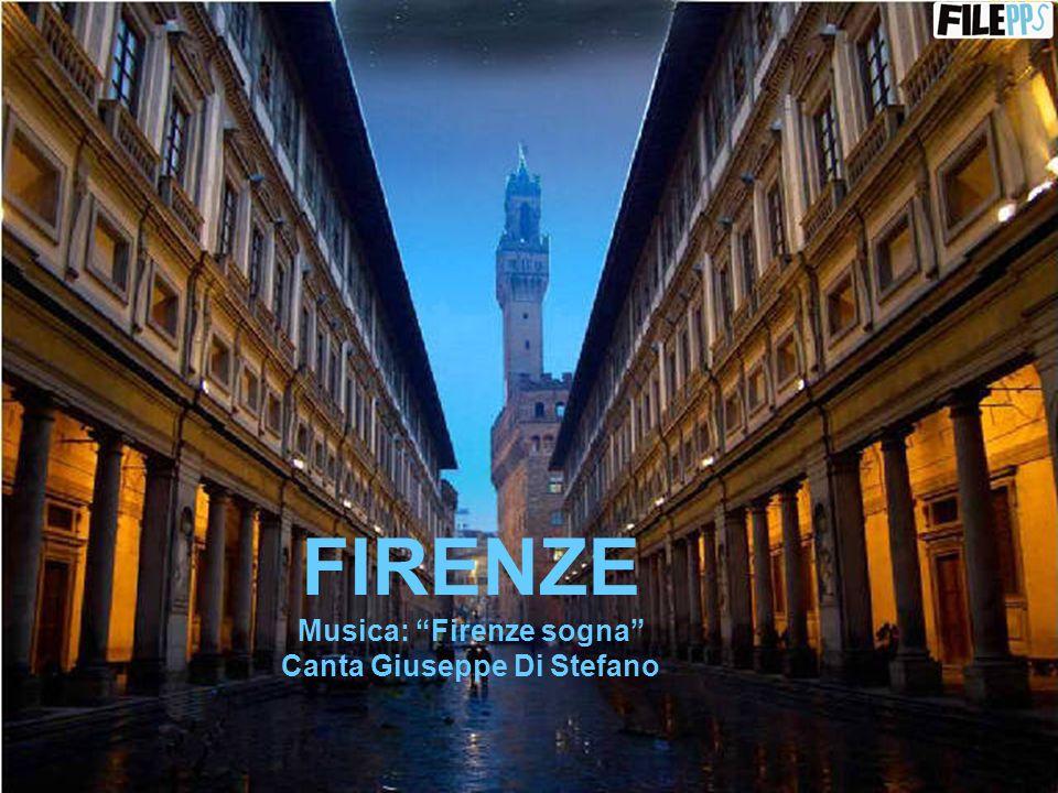 Musica: Firenze sogna Canta Giuseppe Di Stefano