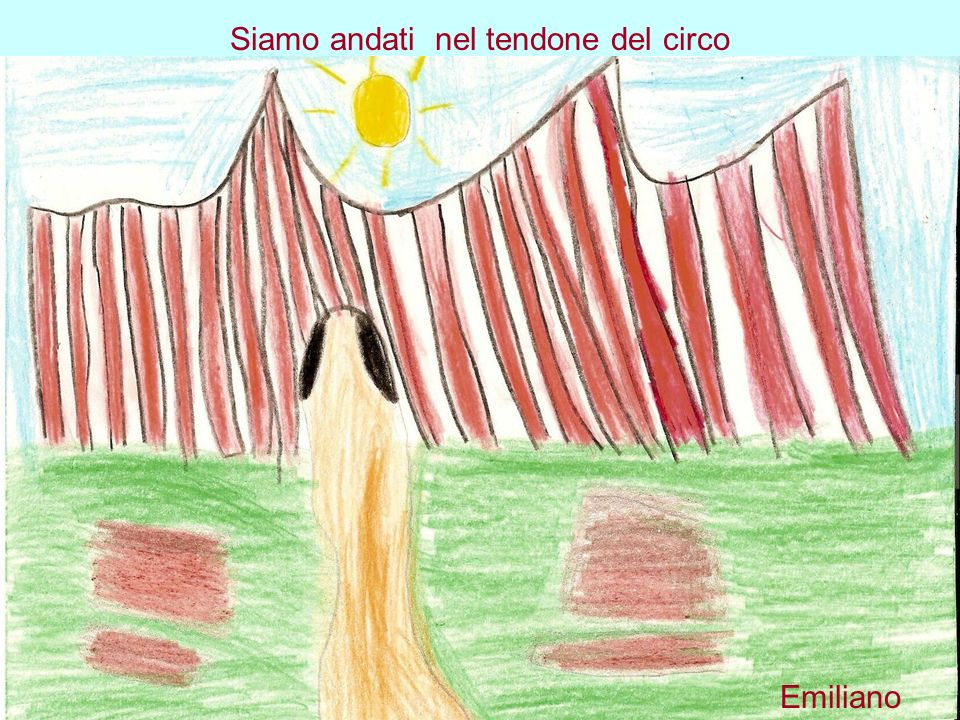 Siamo andati nel tendone del circo