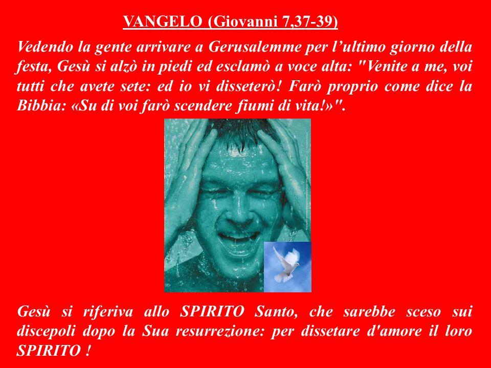 VANGELO (Giovanni 7,37-39)