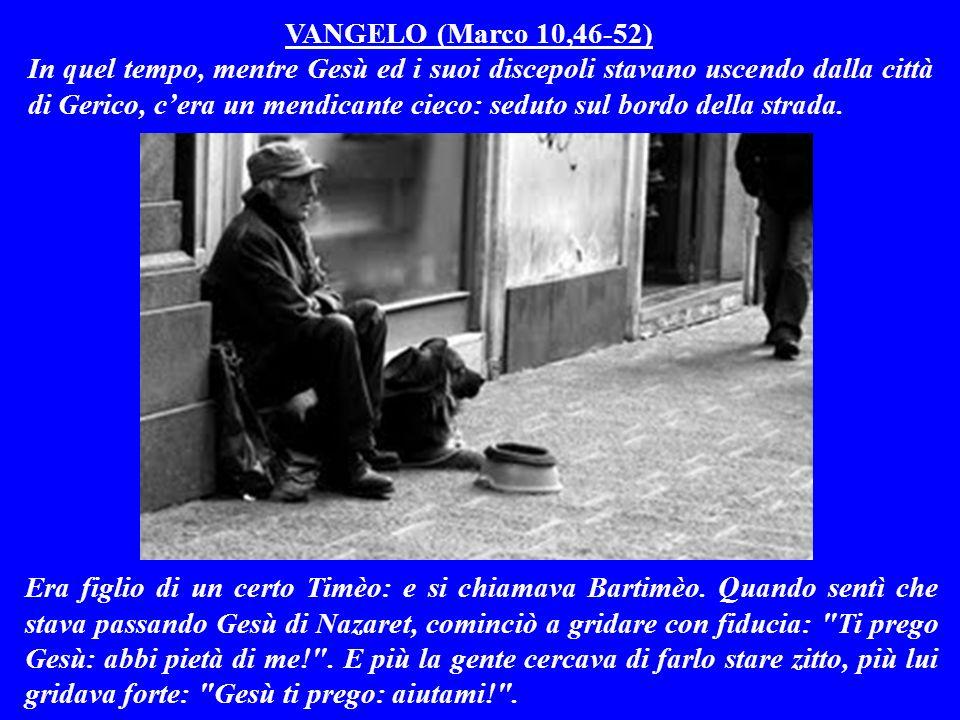 VANGELO (Marco 10,46-52)