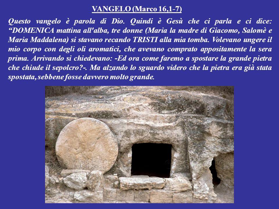 VANGELO (Marco 16,1-7)