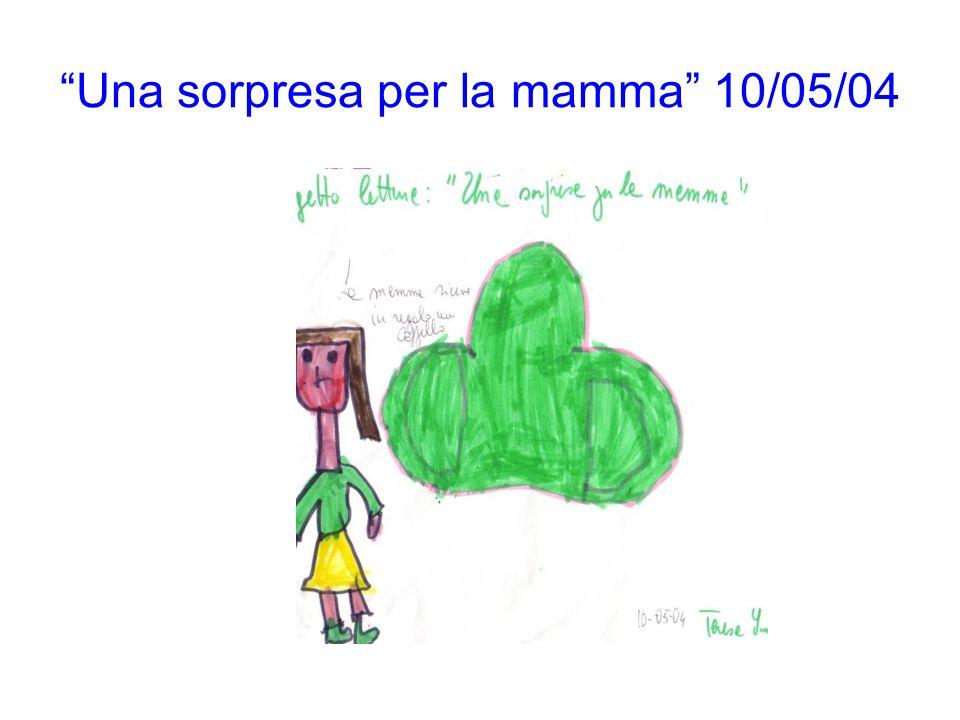 Una sorpresa per la mamma 10/05/04