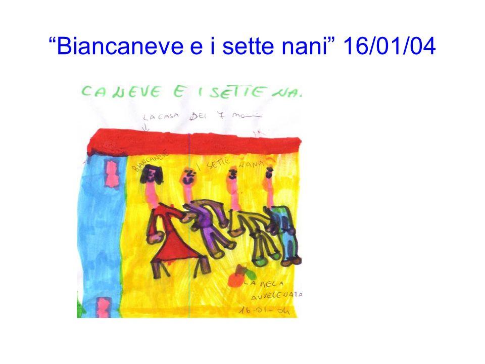 Biancaneve e i sette nani 16/01/04