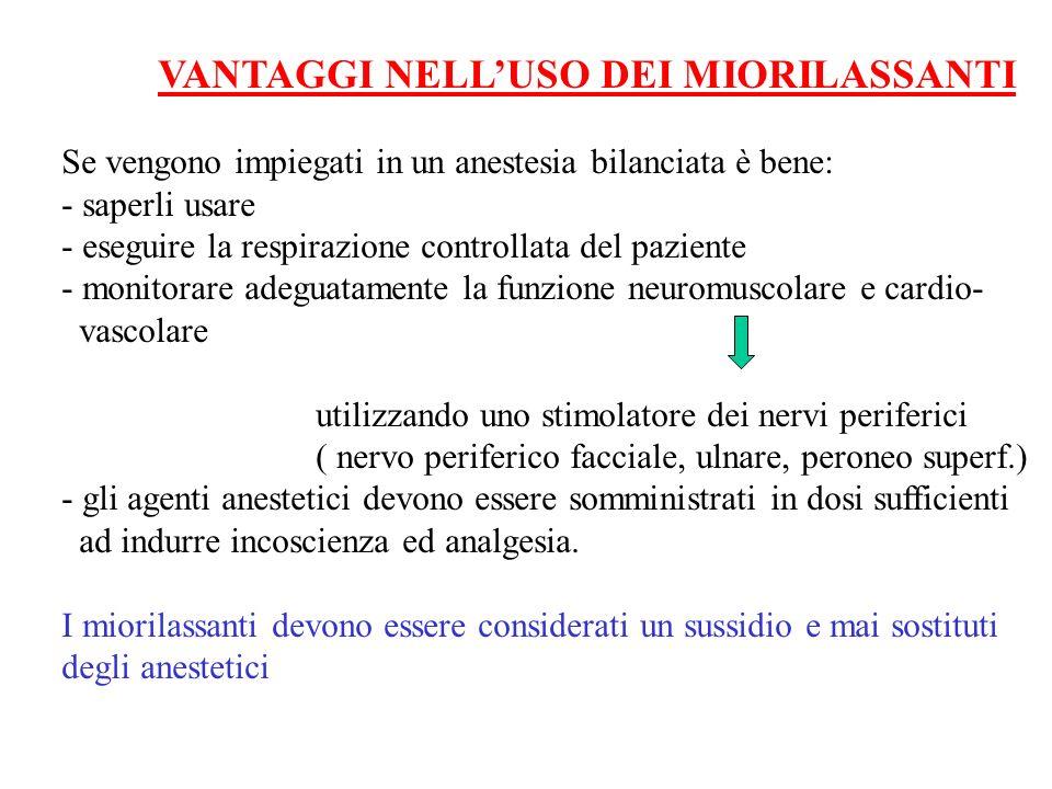 VANTAGGI NELL'USO DEI MIORILASSANTI