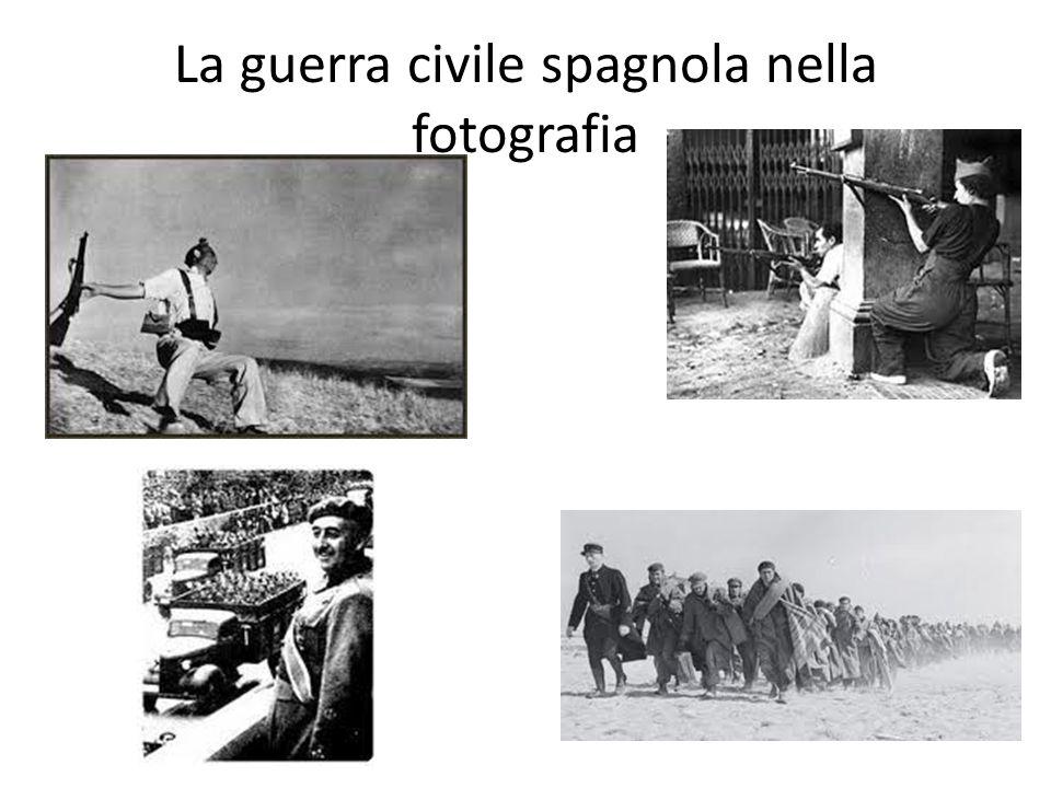 La guerra civile spagnola nella fotografia