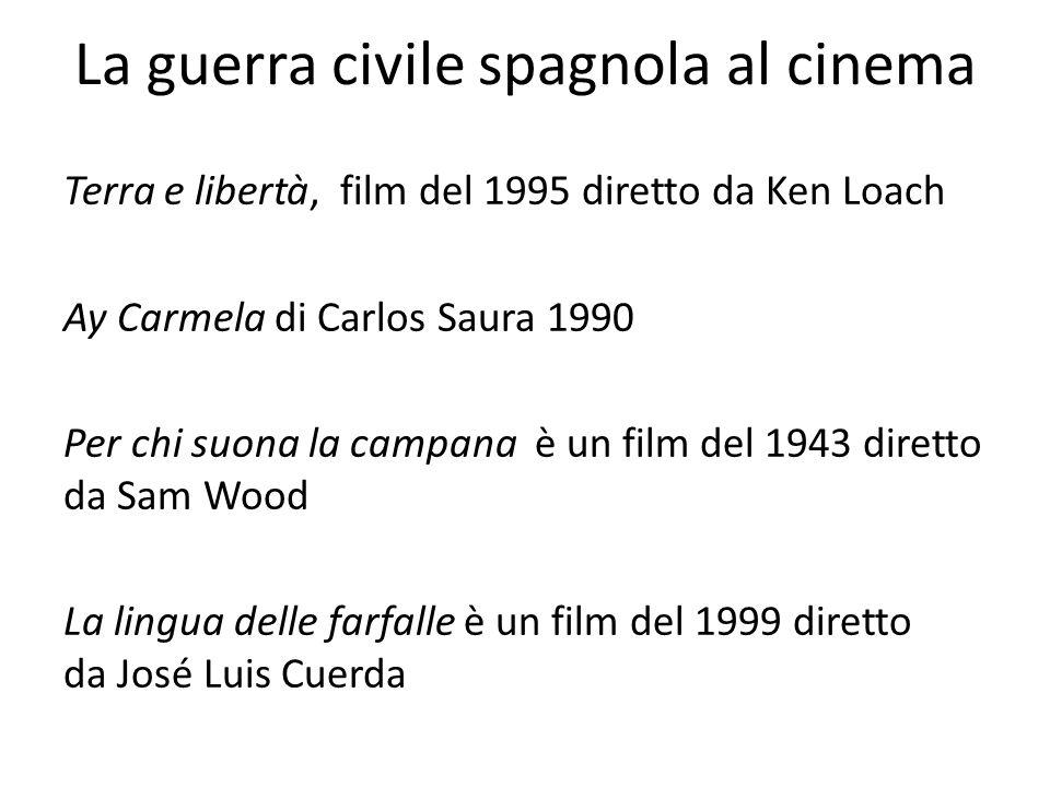 La guerra civile spagnola al cinema