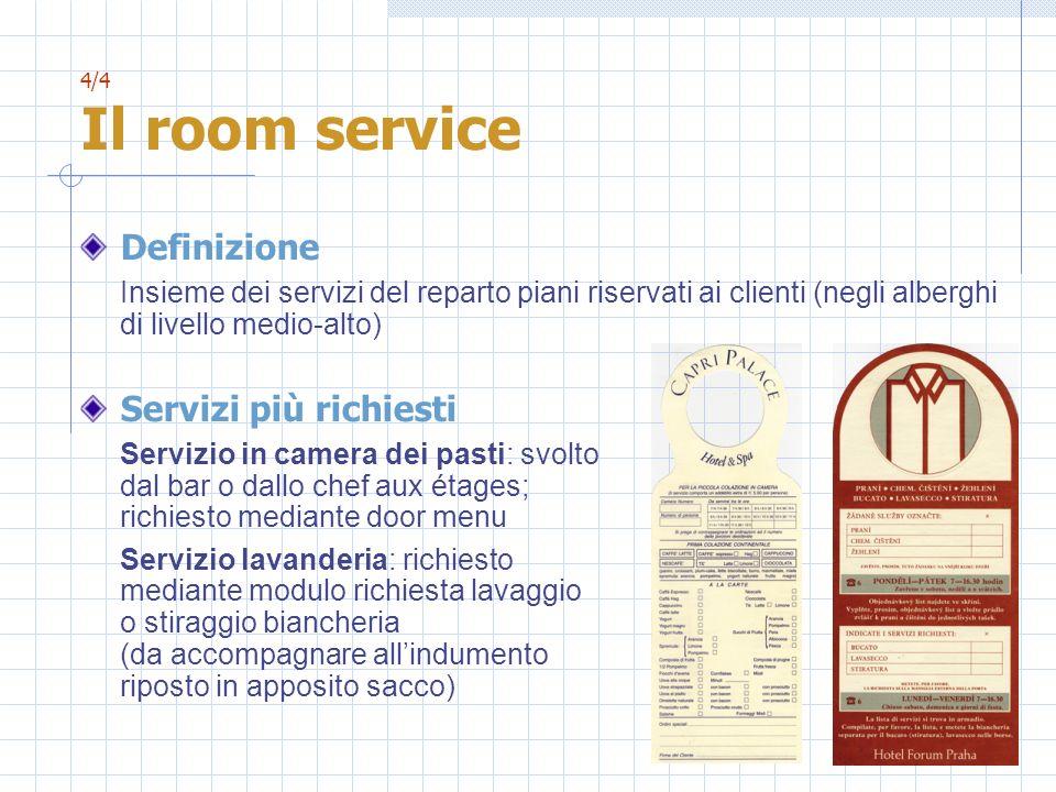 Definizione Servizi più richiesti