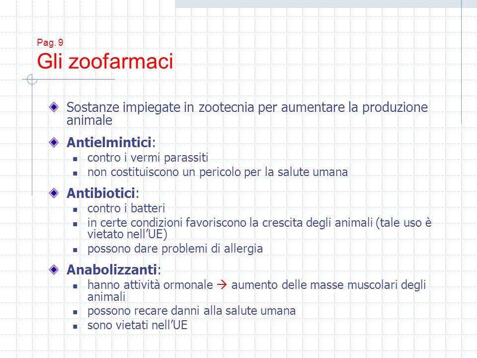 Sostanze impiegate in zootecnia per aumentare la produzione animale