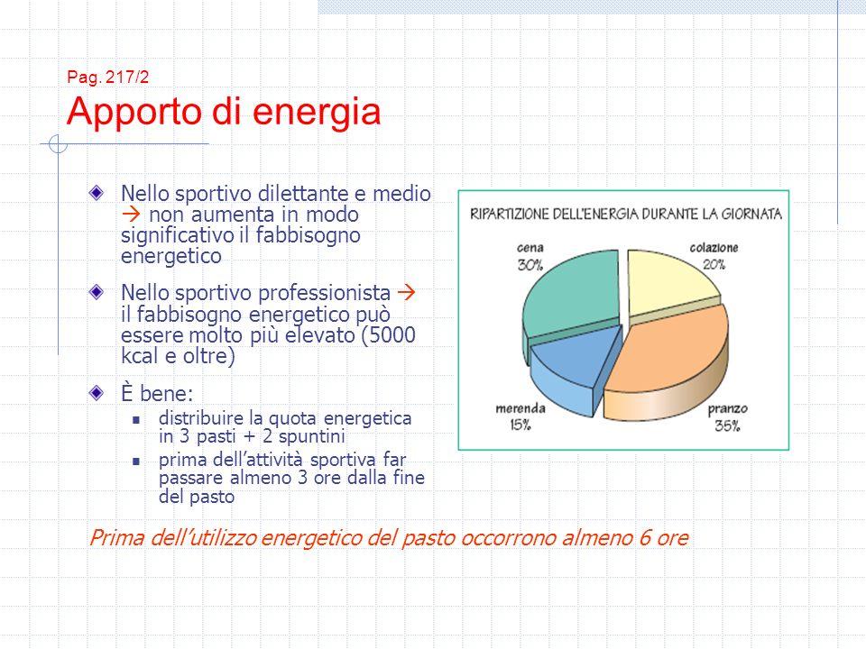 Pag. 217/2 Apporto di energia