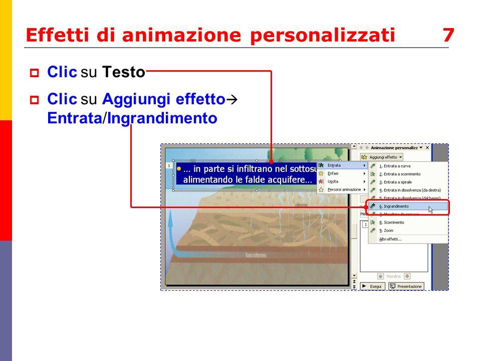Effetti di animazione personalizzati 7
