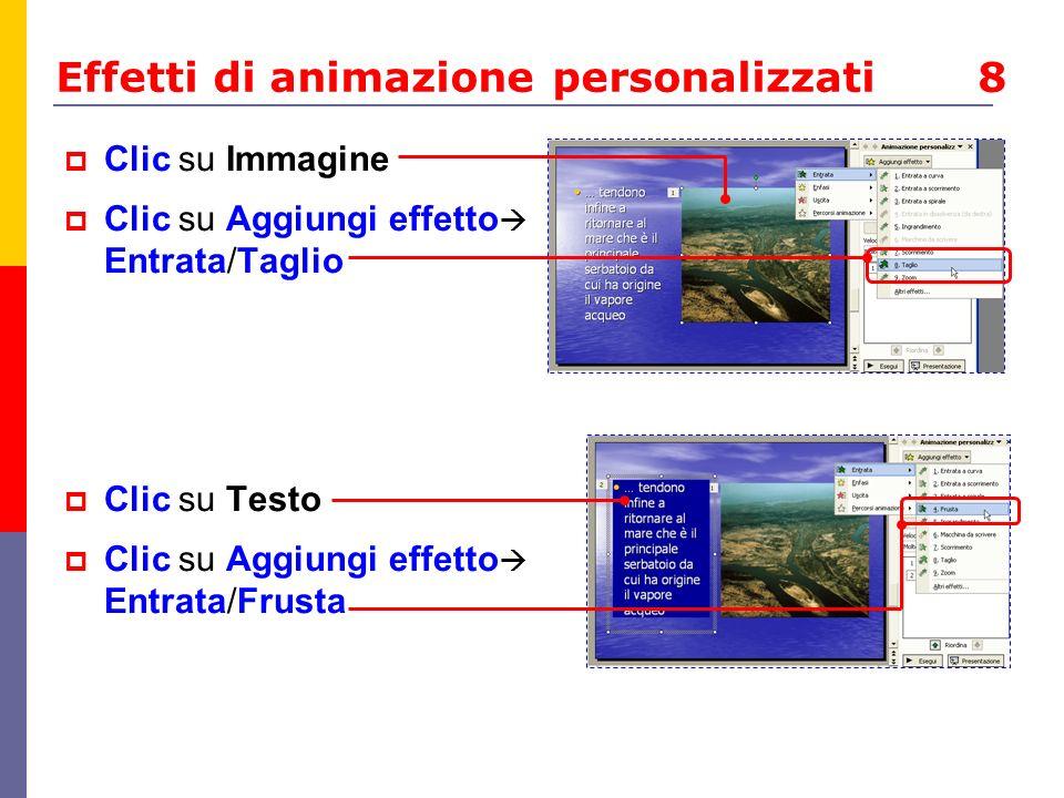 Effetti di animazione personalizzati 8