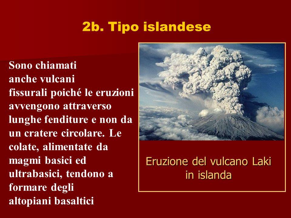 Eruzione del vulcano Laki in islanda
