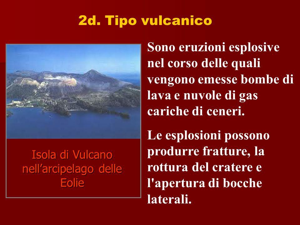 Isola di Vulcano nell'arcipelago delle Eolie