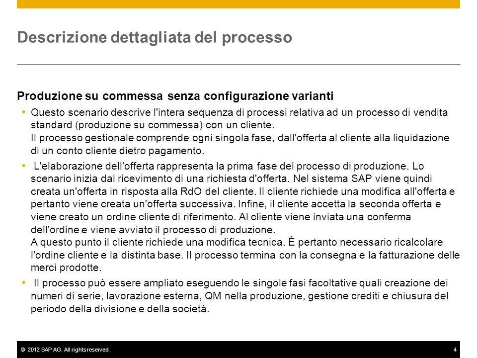 Descrizione dettagliata del processo