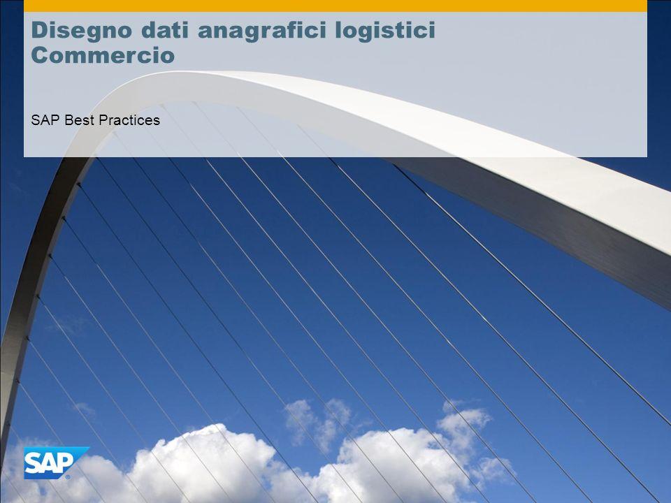 Disegno dati anagrafici logistici Commercio
