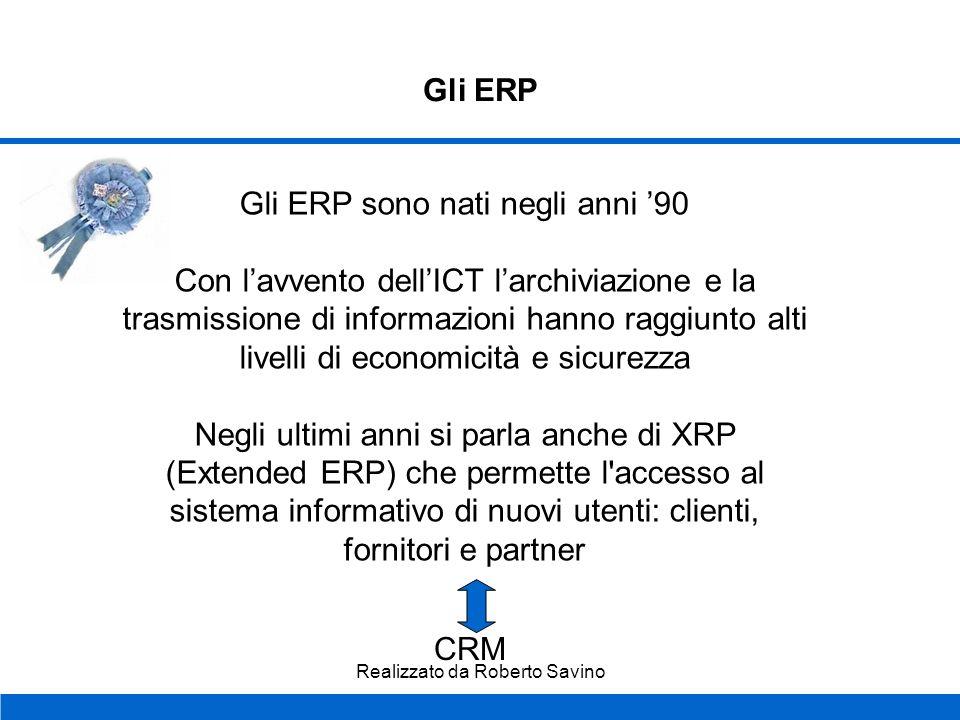 Gli ERP sono nati negli anni '90