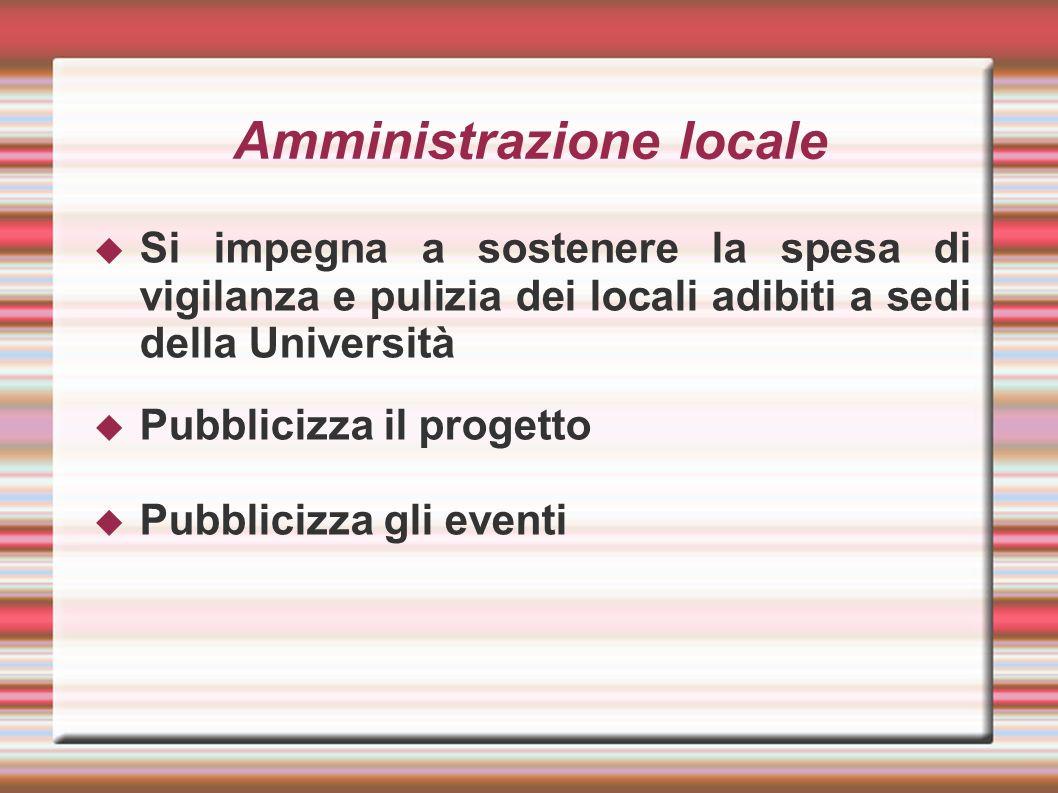 Amministrazione locale