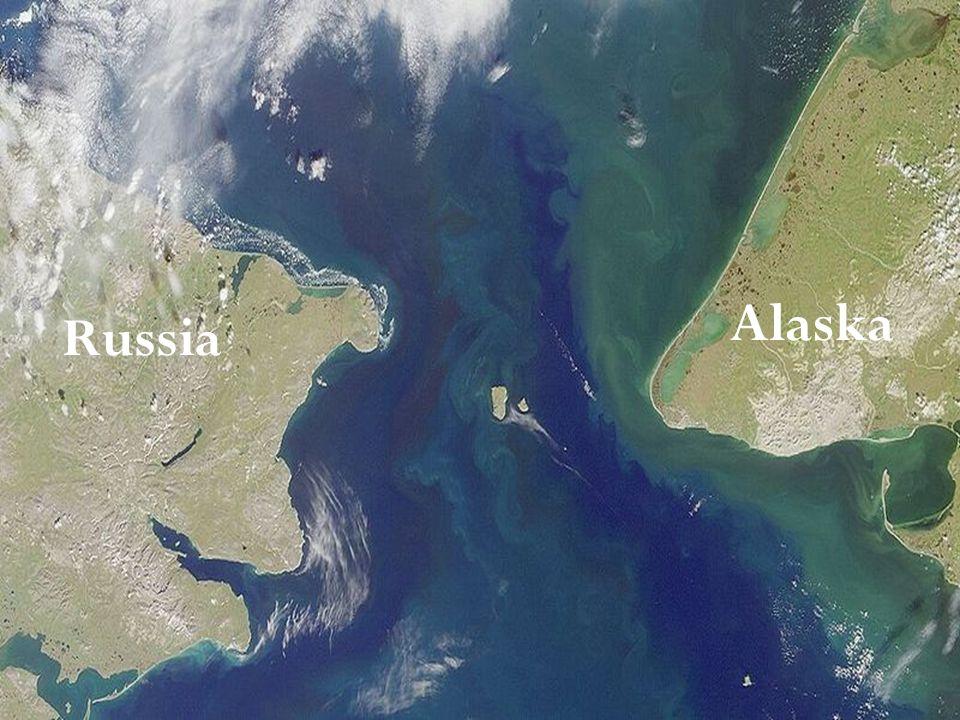 Alaska Russia Lo stretto di Bering