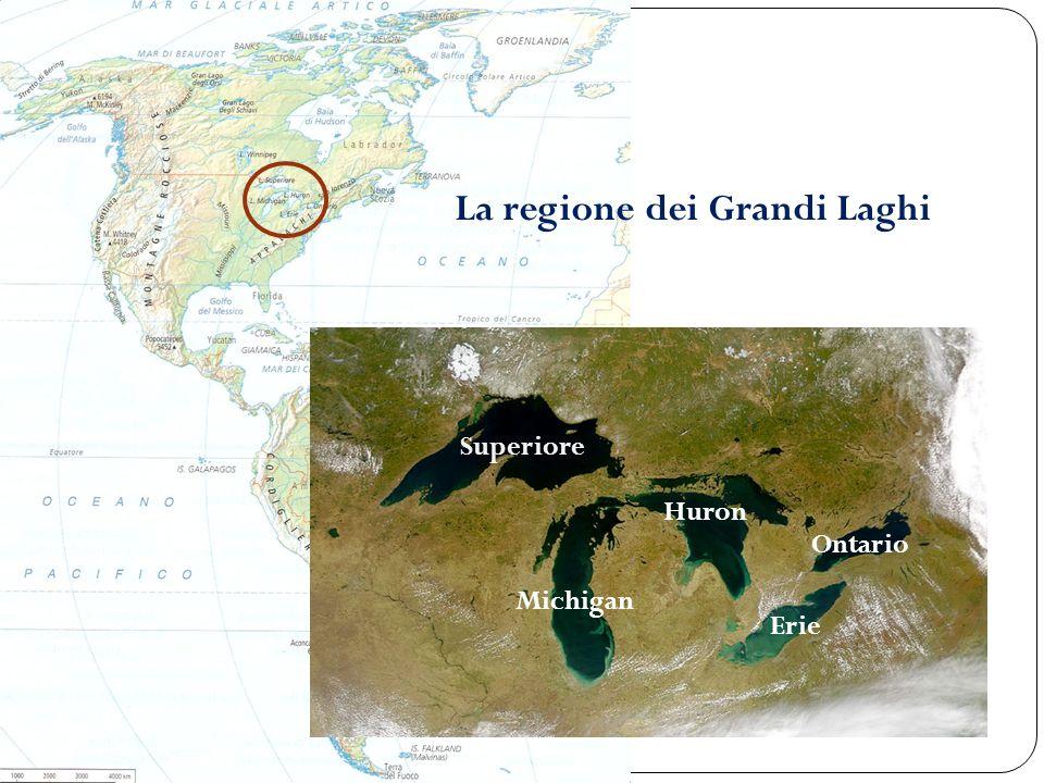 La regione dei Grandi Laghi