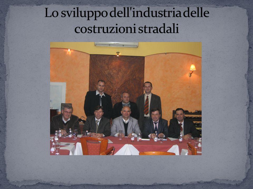 Lo sviluppo dell industria delle costruzioni stradali
