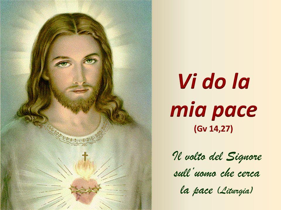 Il volto del Signore sull'uomo che cerca la pace (Liturgia)