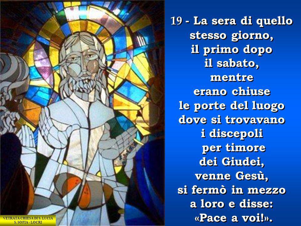 VETRATA CHIESA DI S. LUCIA