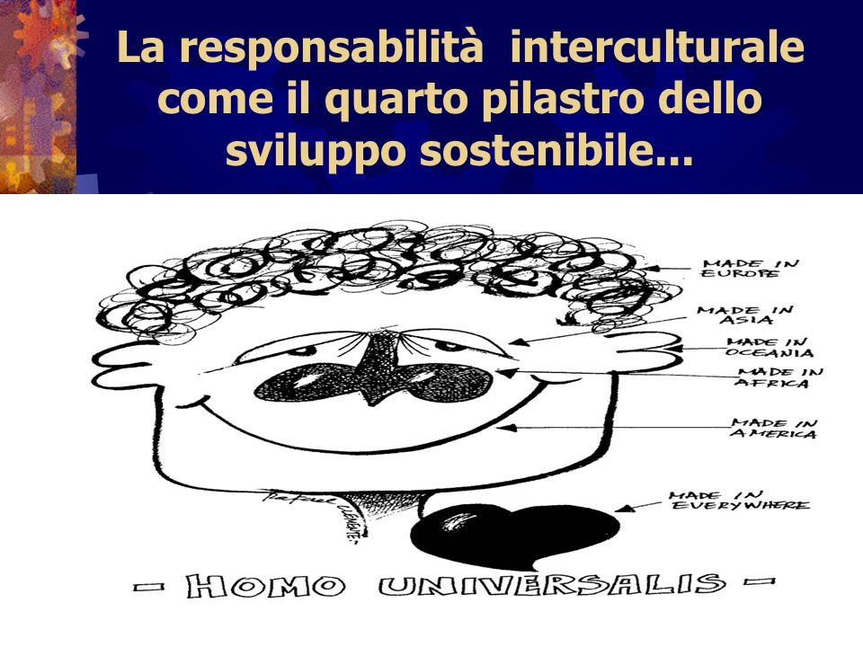 La responsabilità interculturale come il quarto pilastro dello sviluppo sostenibile...
