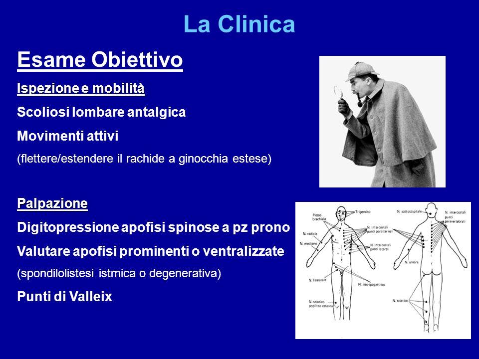 La Clinica Esame Obiettivo Ispezione e mobilità