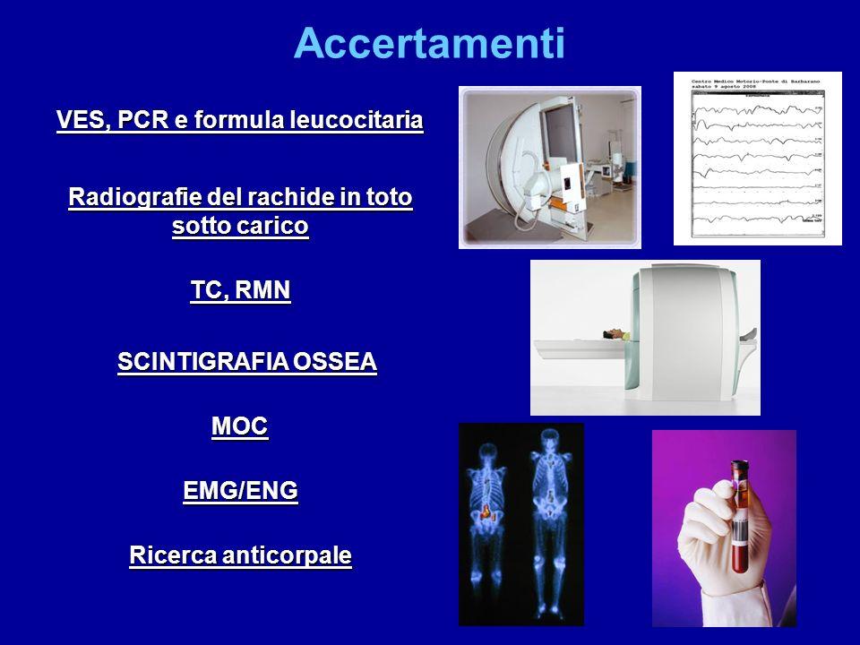 Accertamenti VES, PCR e formula leucocitaria