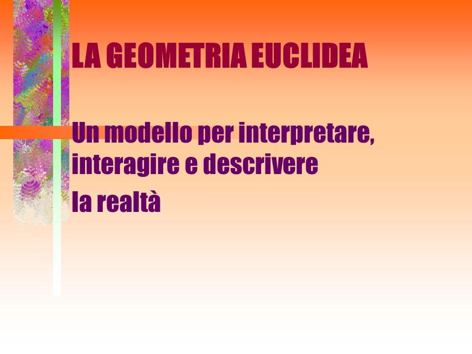 Un modello per interpretare, interagire e descrivere la realtà