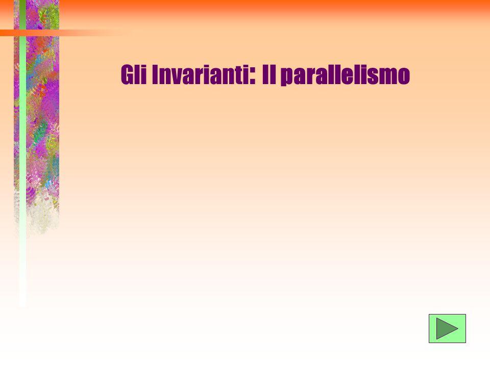 Gli Invarianti: Il parallelismo