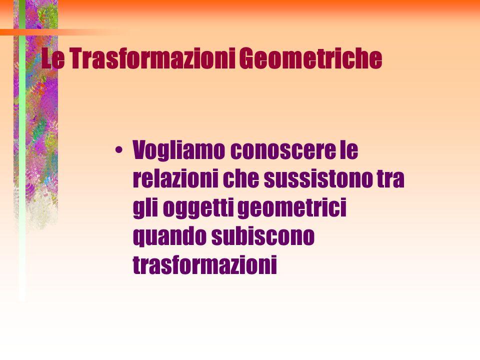Le Trasformazioni Geometriche