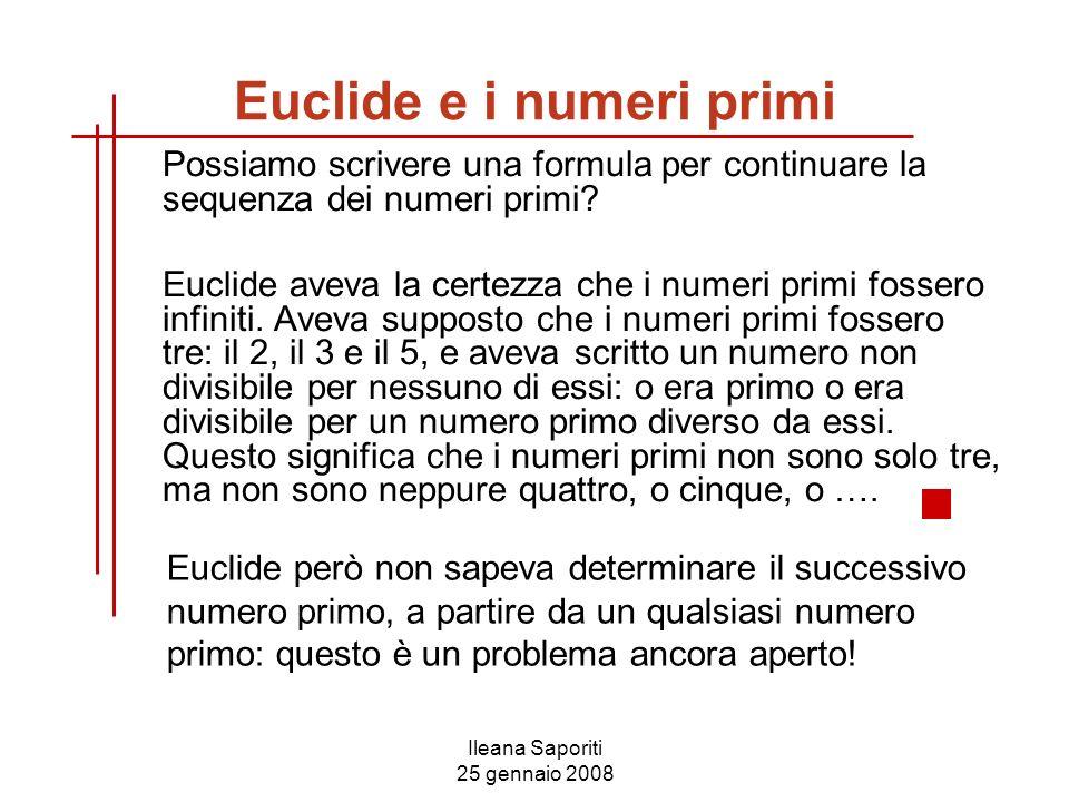 Euclide e i numeri primi