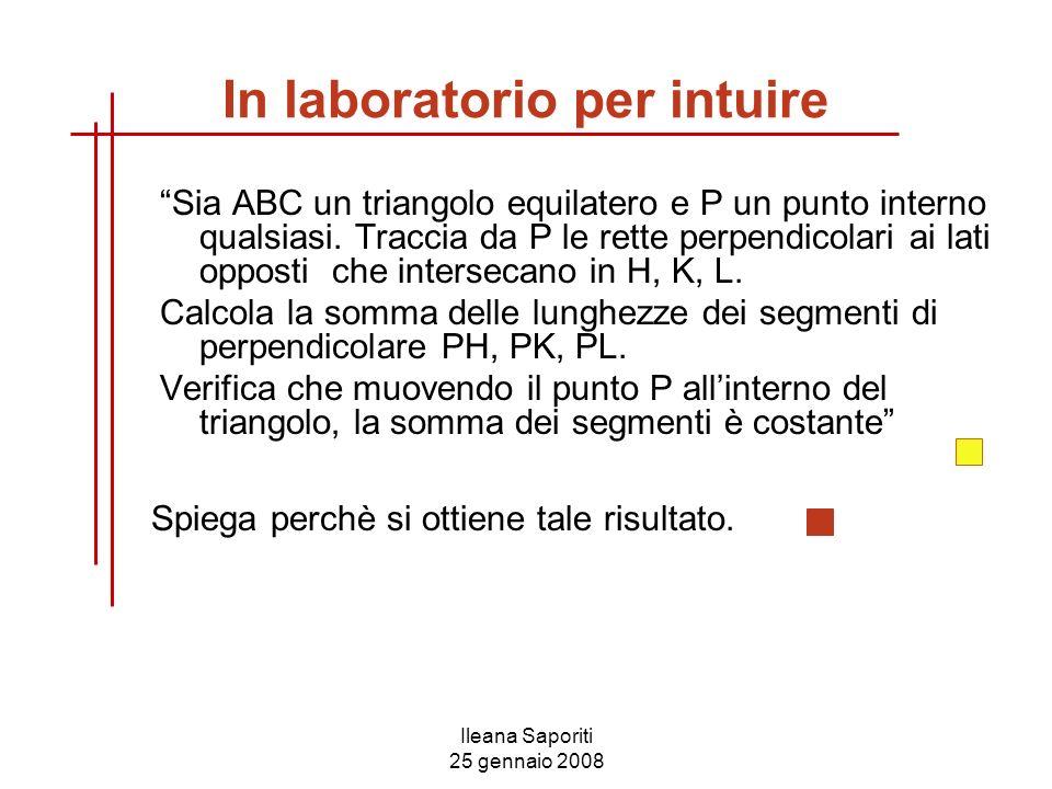 In laboratorio per intuire