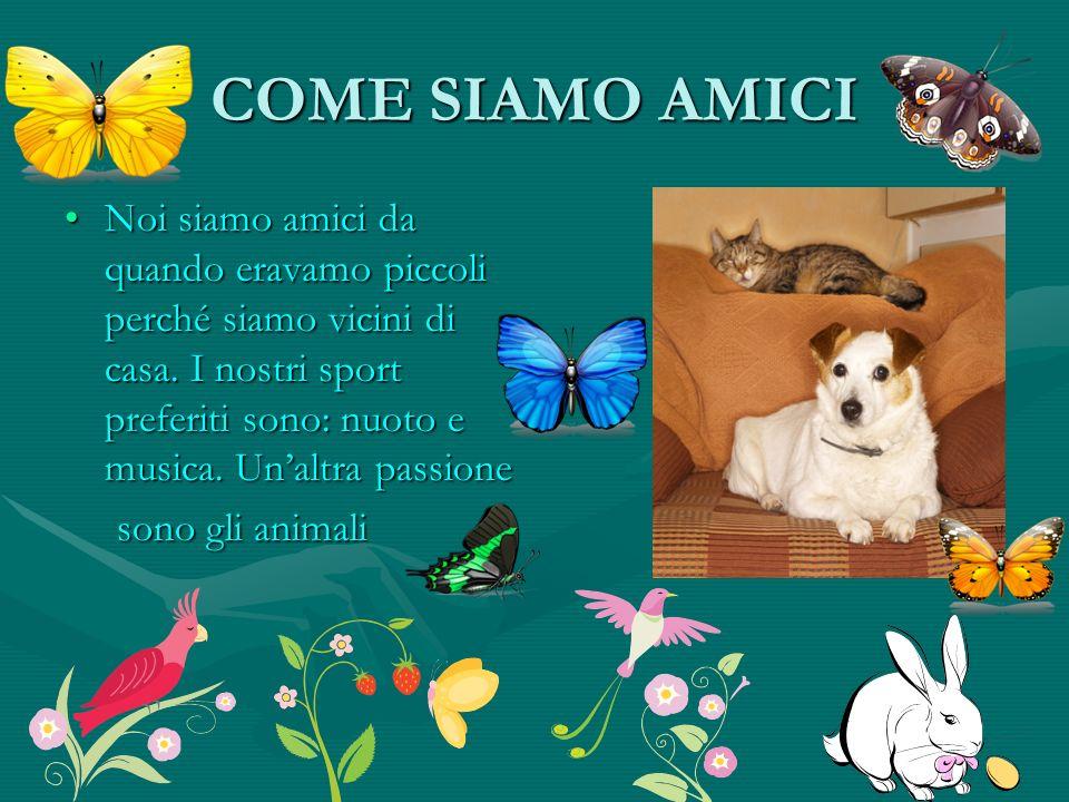 COME SIAMO AMICI