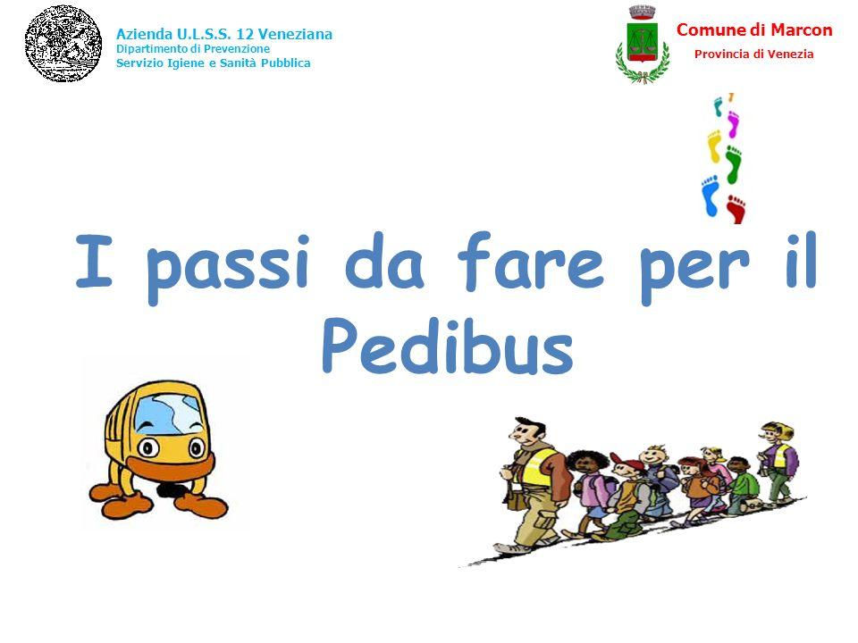 I passi da fare per il Pedibus