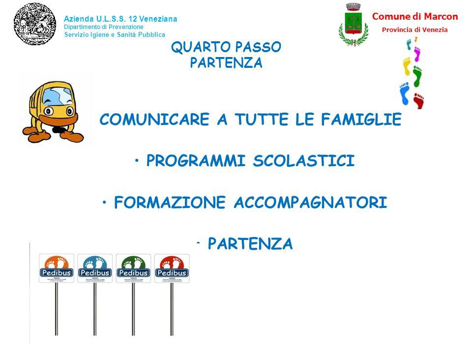 COMUNICARE A TUTTE LE FAMIGLIE FORMAZIONE ACCOMPAGNATORI