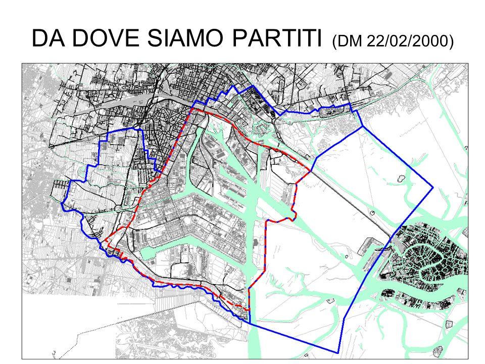 DA DOVE SIAMO PARTITI (DM 22/02/2000)