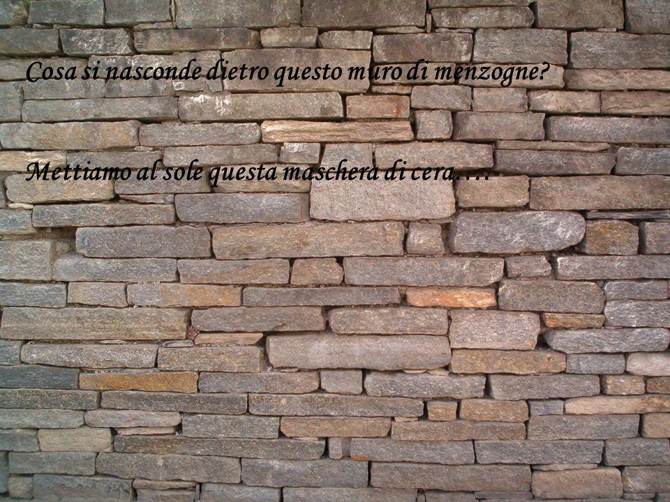 Cosa si nasconde dietro questo muro di menzogne