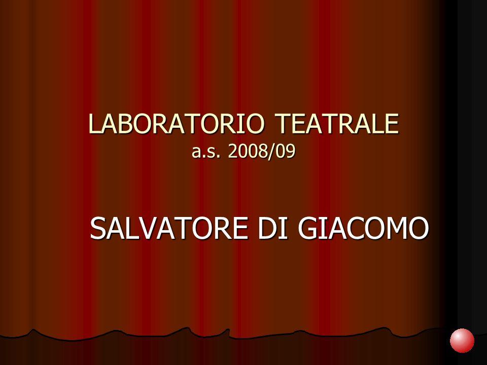 LABORATORIO TEATRALE a.s. 2008/09
