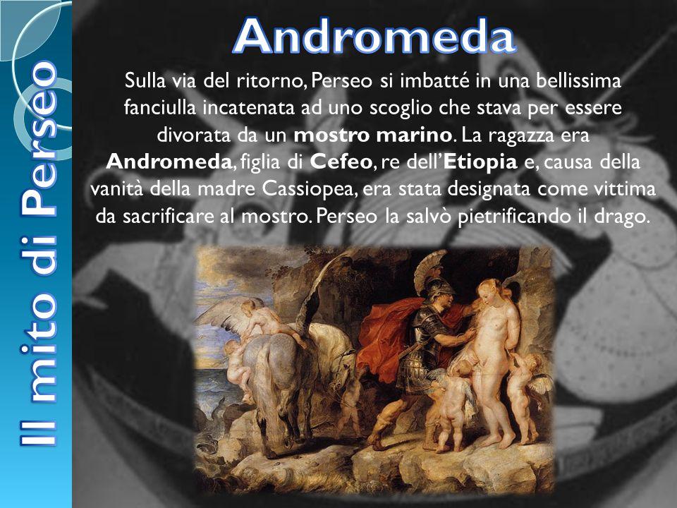 Andromeda Il mito di Perseo