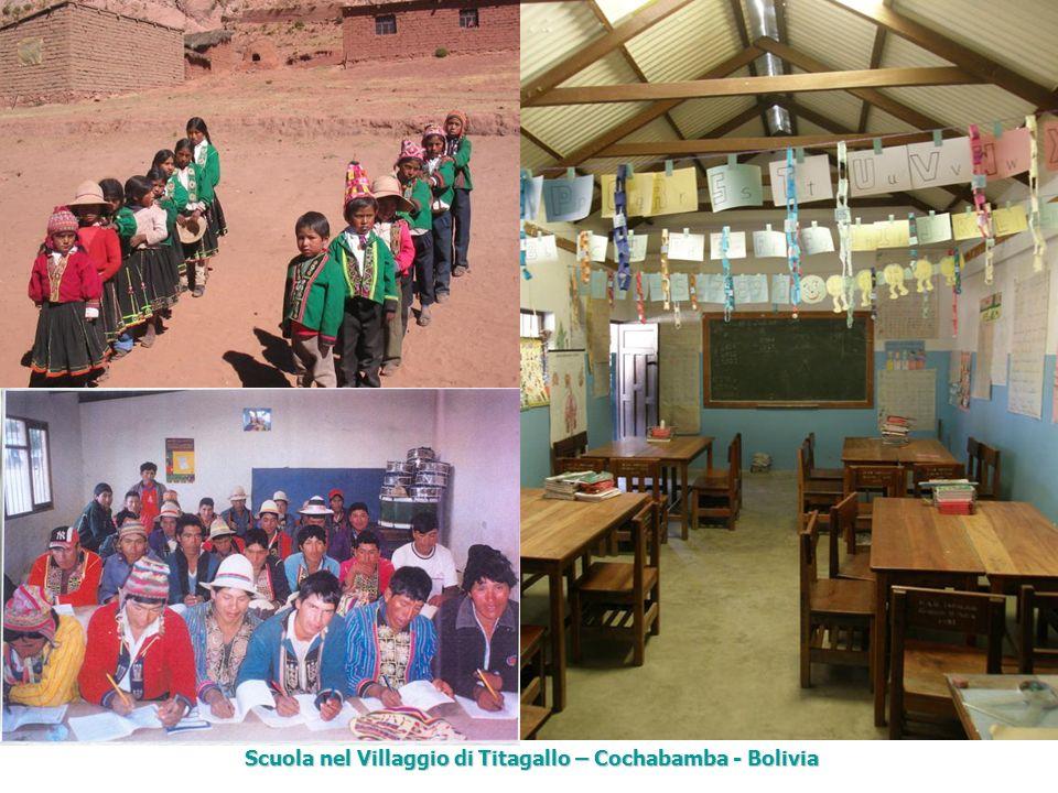 Scuola nel Villaggio di Titagallo – Cochabamba - Bolivia