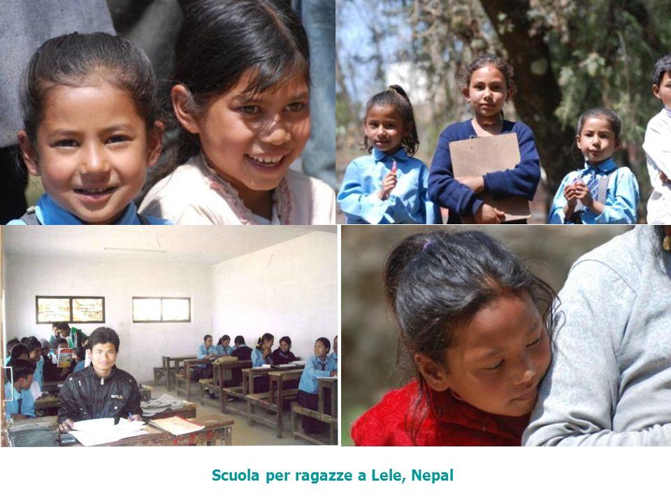 Scuola per ragazze a Lele, Nepal