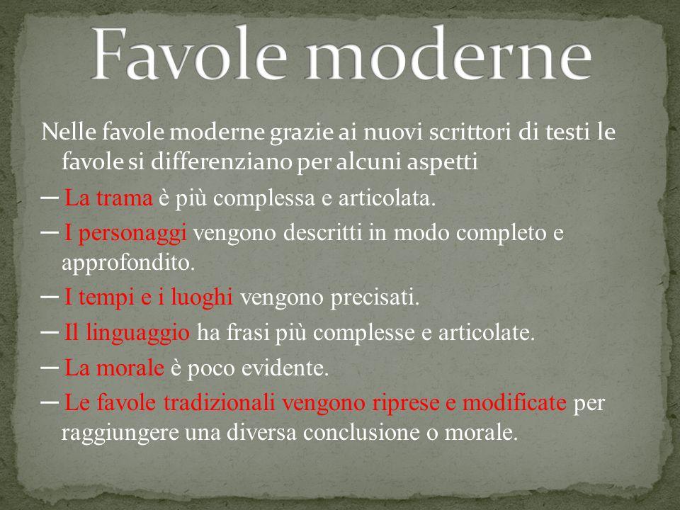 Favole moderne