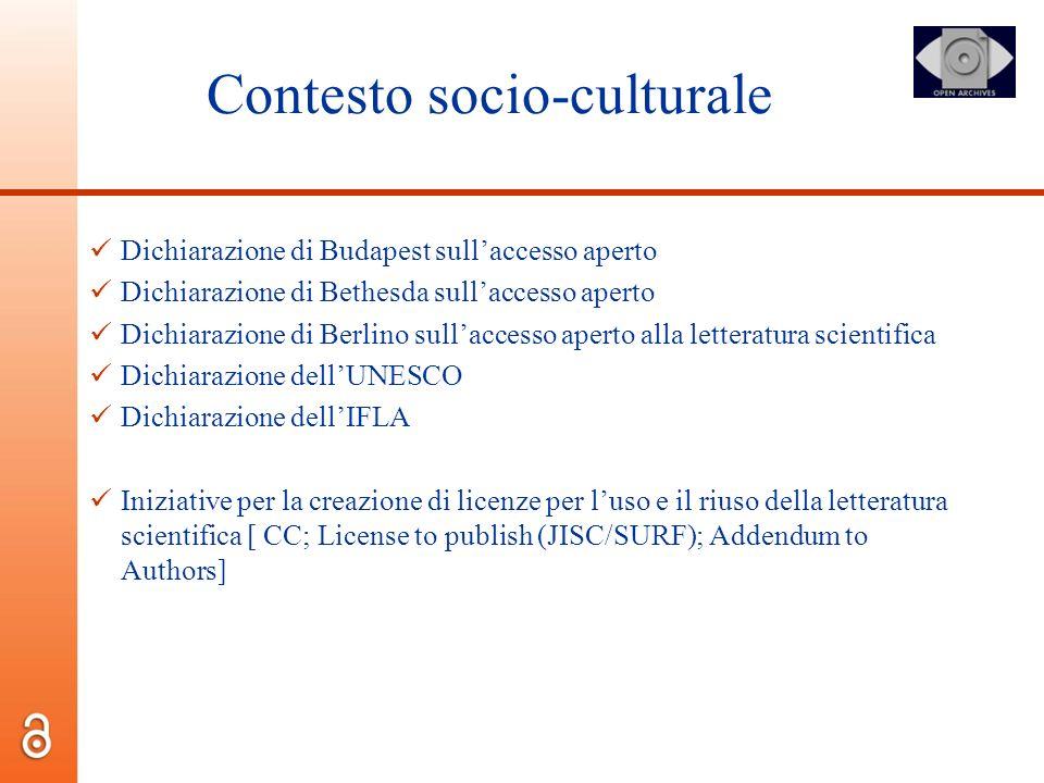 Contesto socio-culturale